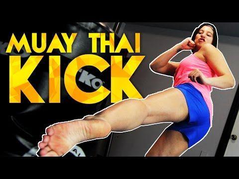 Muay Thai Kick Tutorial - YouTube