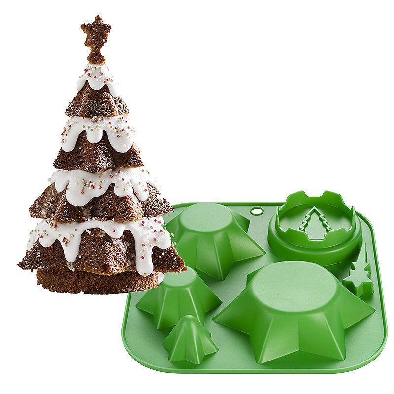 Christmas Tree Cake Mould In 2020 Christmas Tree Cake Tree Cakes Cake Mold