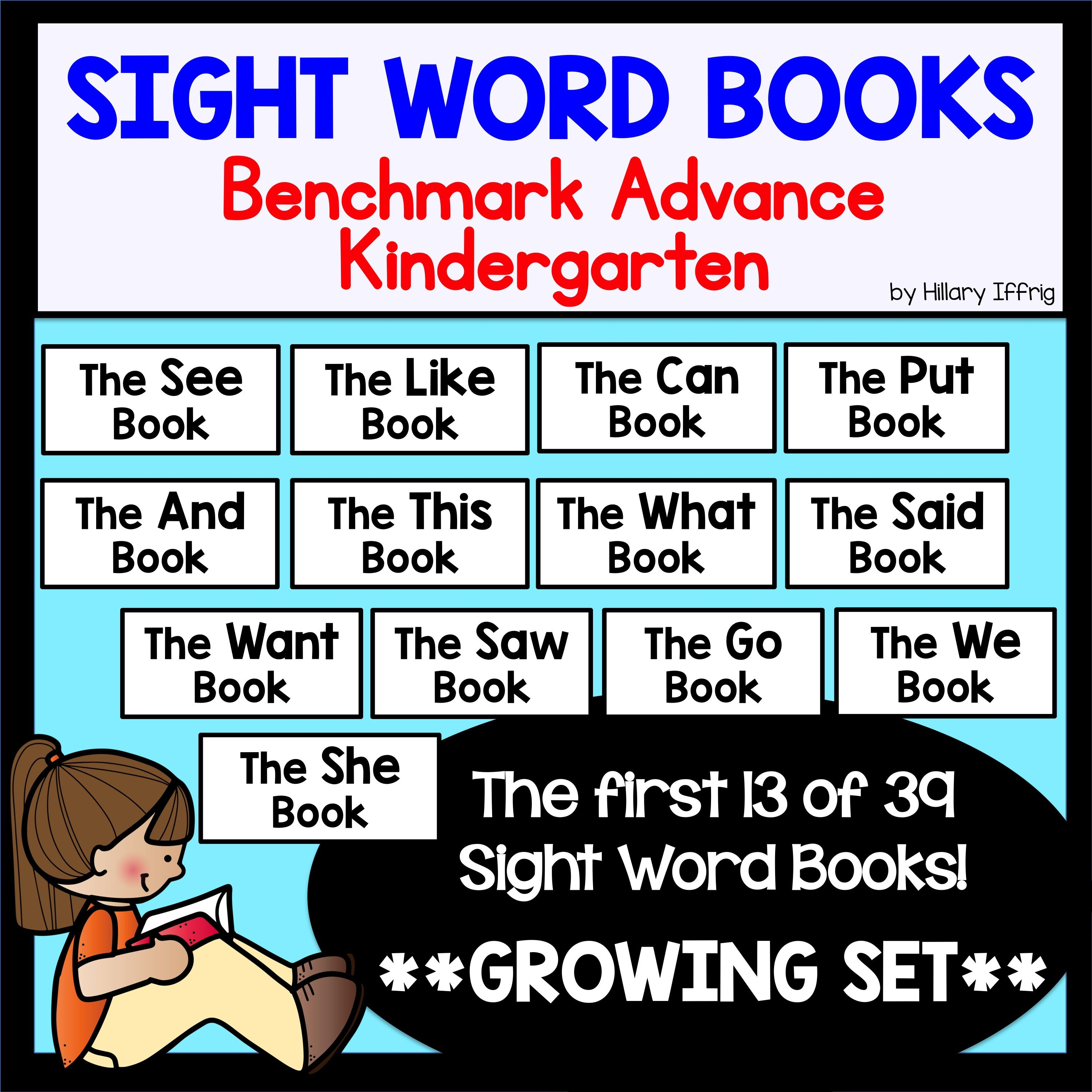 Sight word books kindergarten sight word books sight