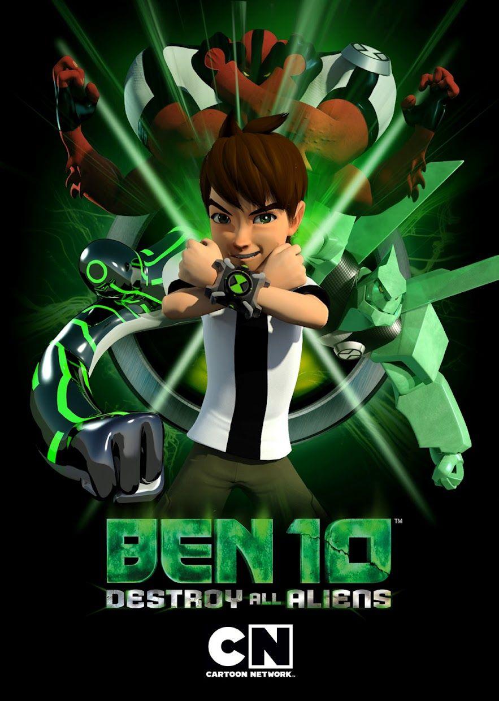 Ben Ten Destroy All Aliens Ben 10, Alien movie poster