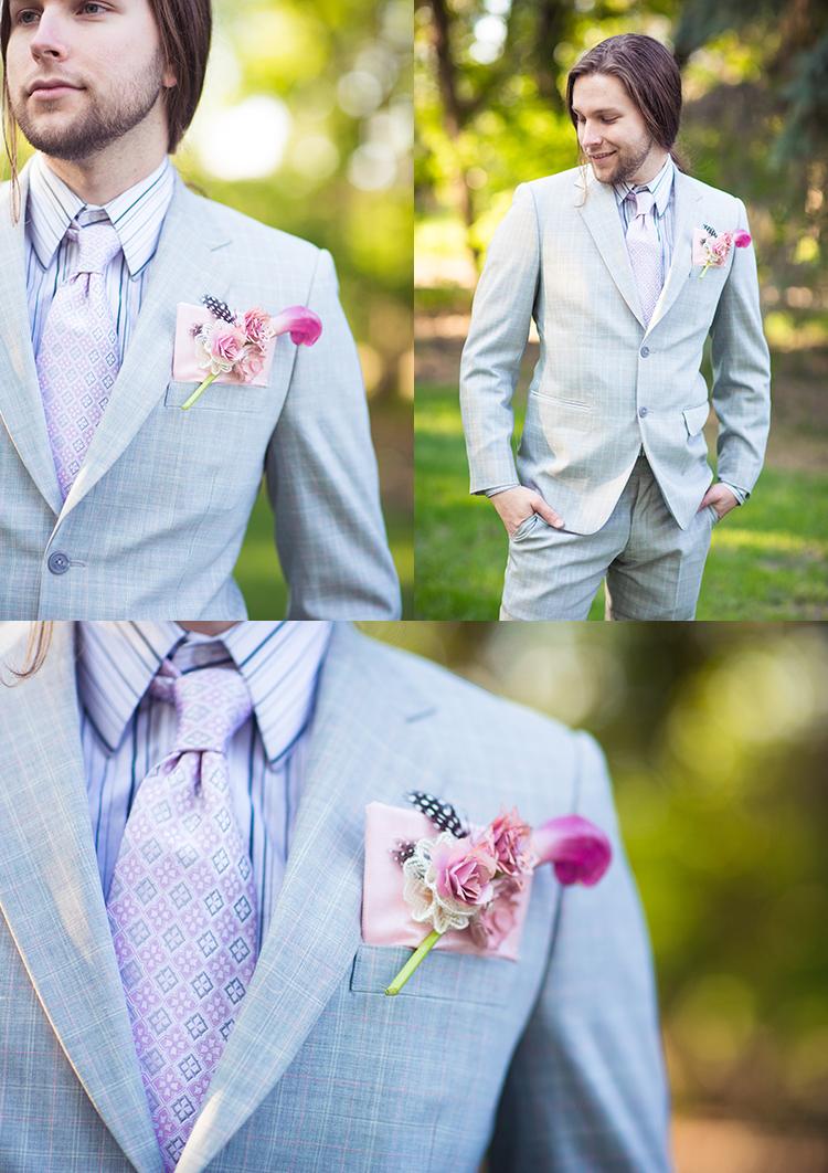 the pink shoot Edmonton wedding, Pink wedding