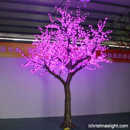 Outdoor Led Tree Lights Pink Artificial