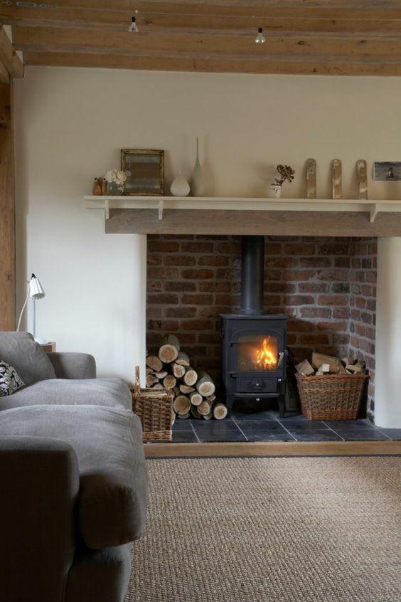 Les Sols S Habillent De Sisal Home Brick Fireplace Makeover