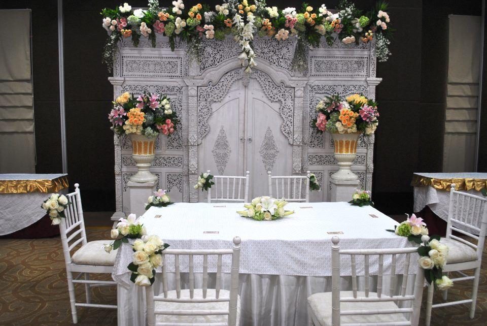 Dekorasi Meja Akad Nikah Di Rumah Wedding Di 2019