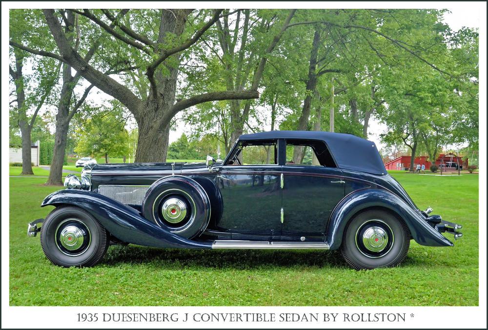 1935 Duesenberg J Convertible Sedan by Rollston   Photograph…   Flickr