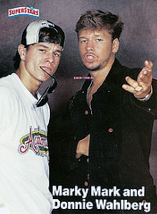 Mark And Donnie Wahlberg 16bopteen Beat Tiger Beat Donnie