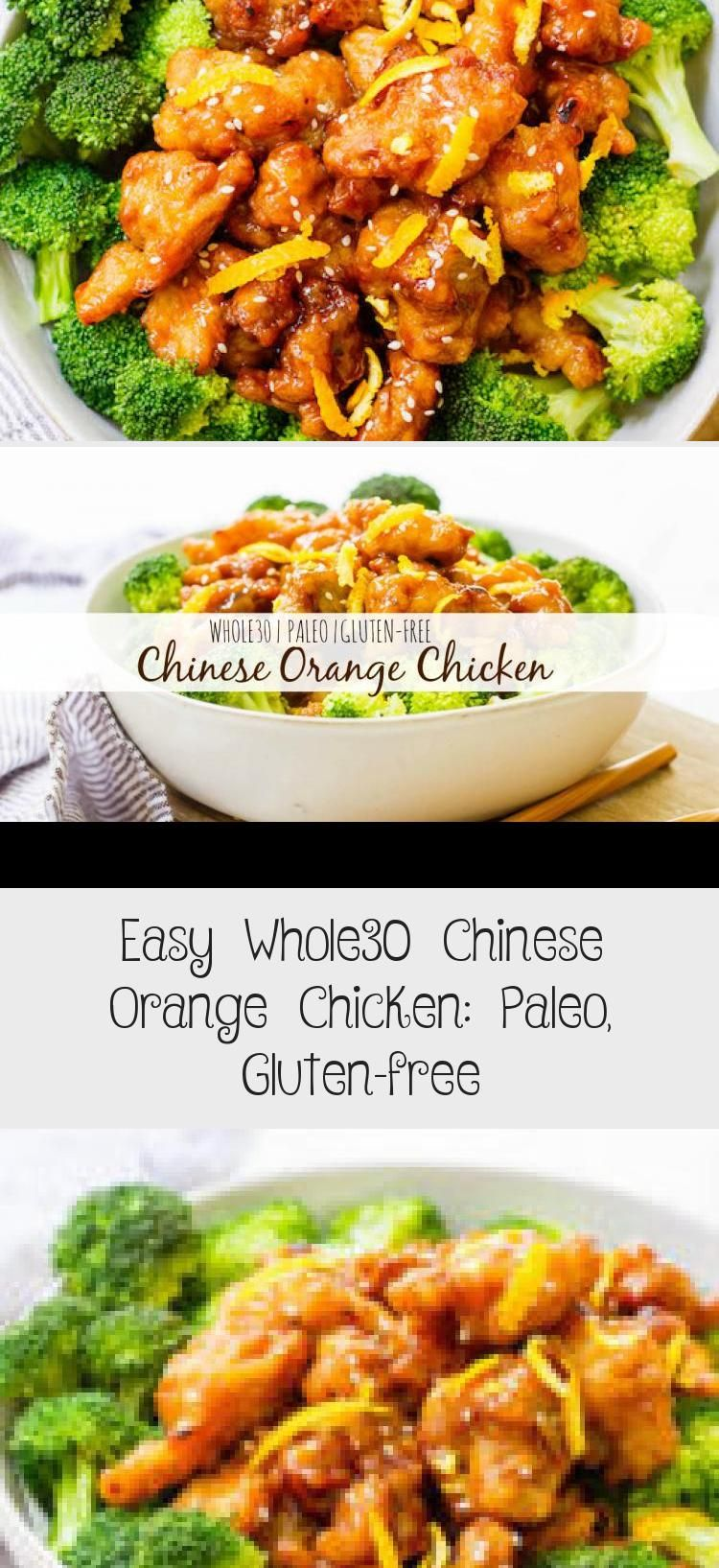 This Easy Whole30 Chinese Orange Chicken Is The Best Takeout Fake Out Ever Sometimes You In 2020 Chinese Orange Chicken Whole 30 Chicken Recipes Orange Chicken Recipe