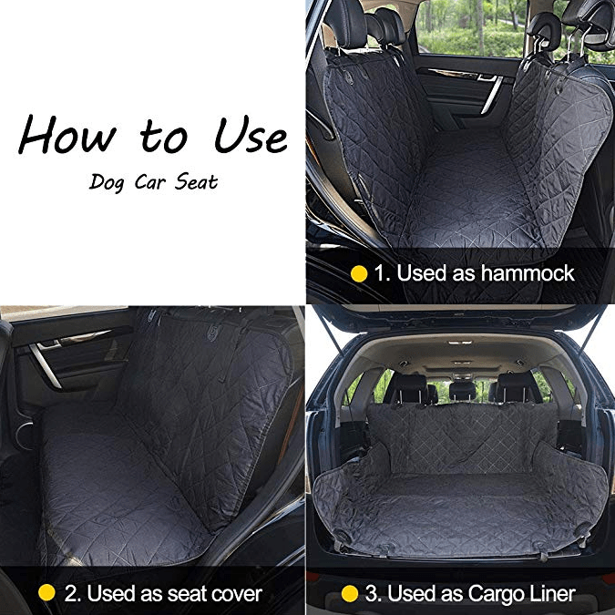 Top Rated Dog Car Seat Covers
