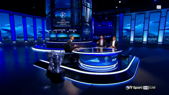 BT Sport | NewscastStudio | Tv design