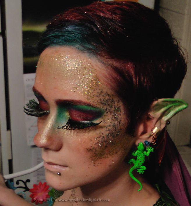 Elf woodland-elf make up  sc 1 st  Pinterest & forest-sprite-makeup-2 | Halloween | Pinterest | Sprites Make up ...