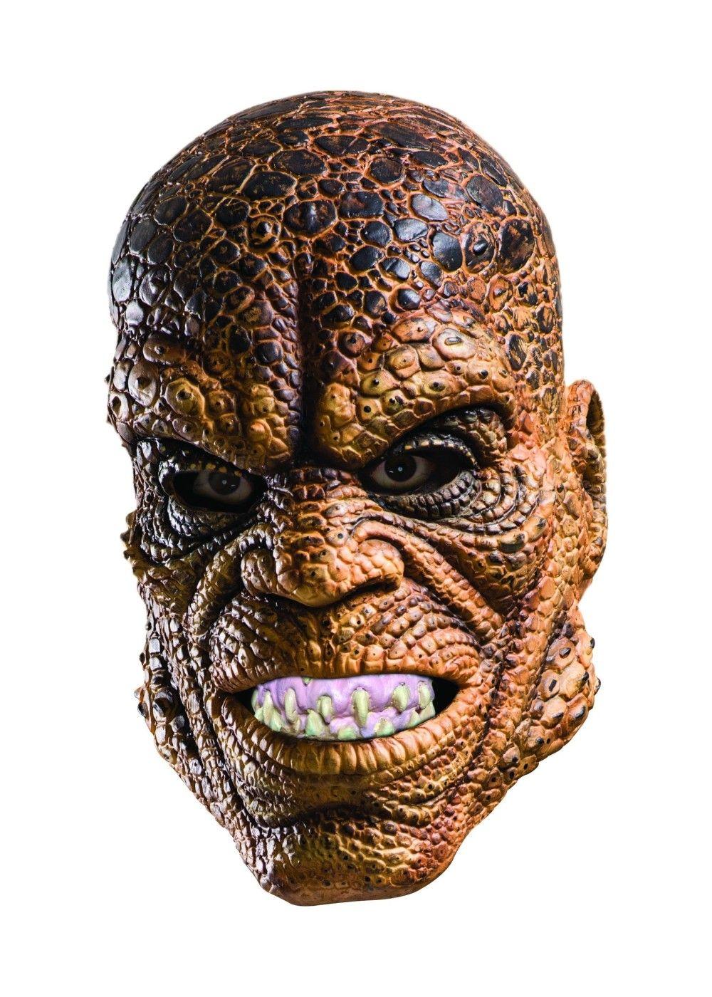 suicide squad killer croc mask   scary costumes   pinterest   killer