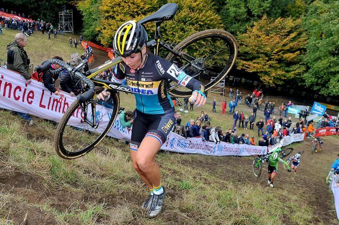 Steep! Nikki Harris at Valkenburg