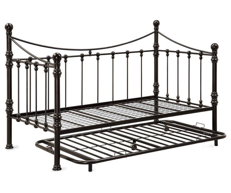 Buy A Quinn Metal Twin Daybed With Trundle At Big Lots For