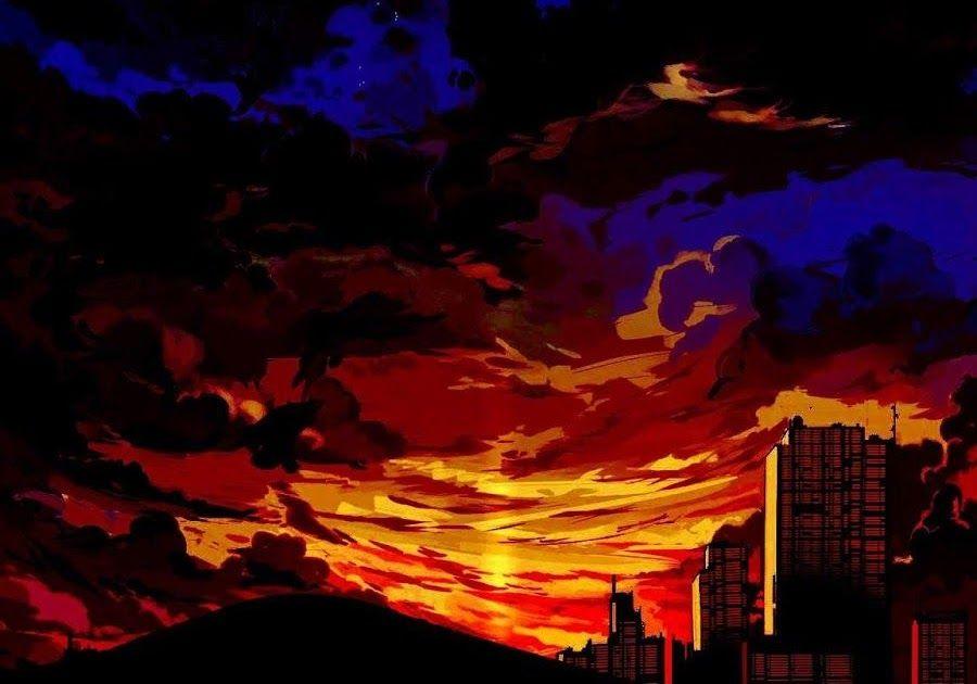 24 Red Anime Wallpaper Aesthetic Anime Sunset In The Desert Aesthetic Wallpapers Wallpaper Downlo In 2020 Anime Scenery Wallpaper Anime Wallpaper Scenery Wallpaper