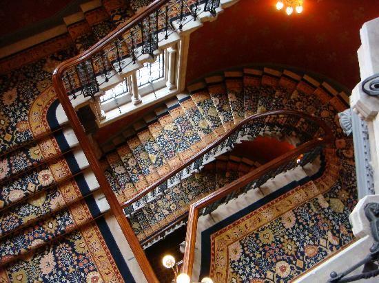 St Pancras Renaissance London Hotel Staircase Pictures Grand
