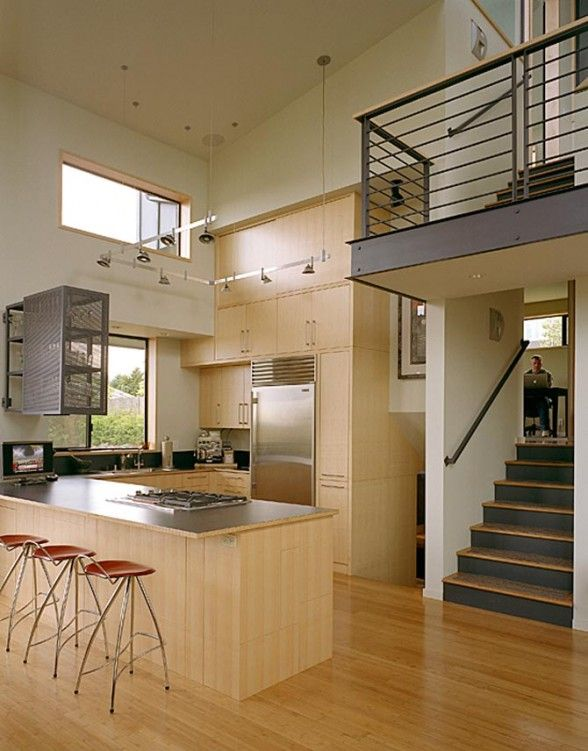 contemporary split level house plans | Split Level Interiors ...