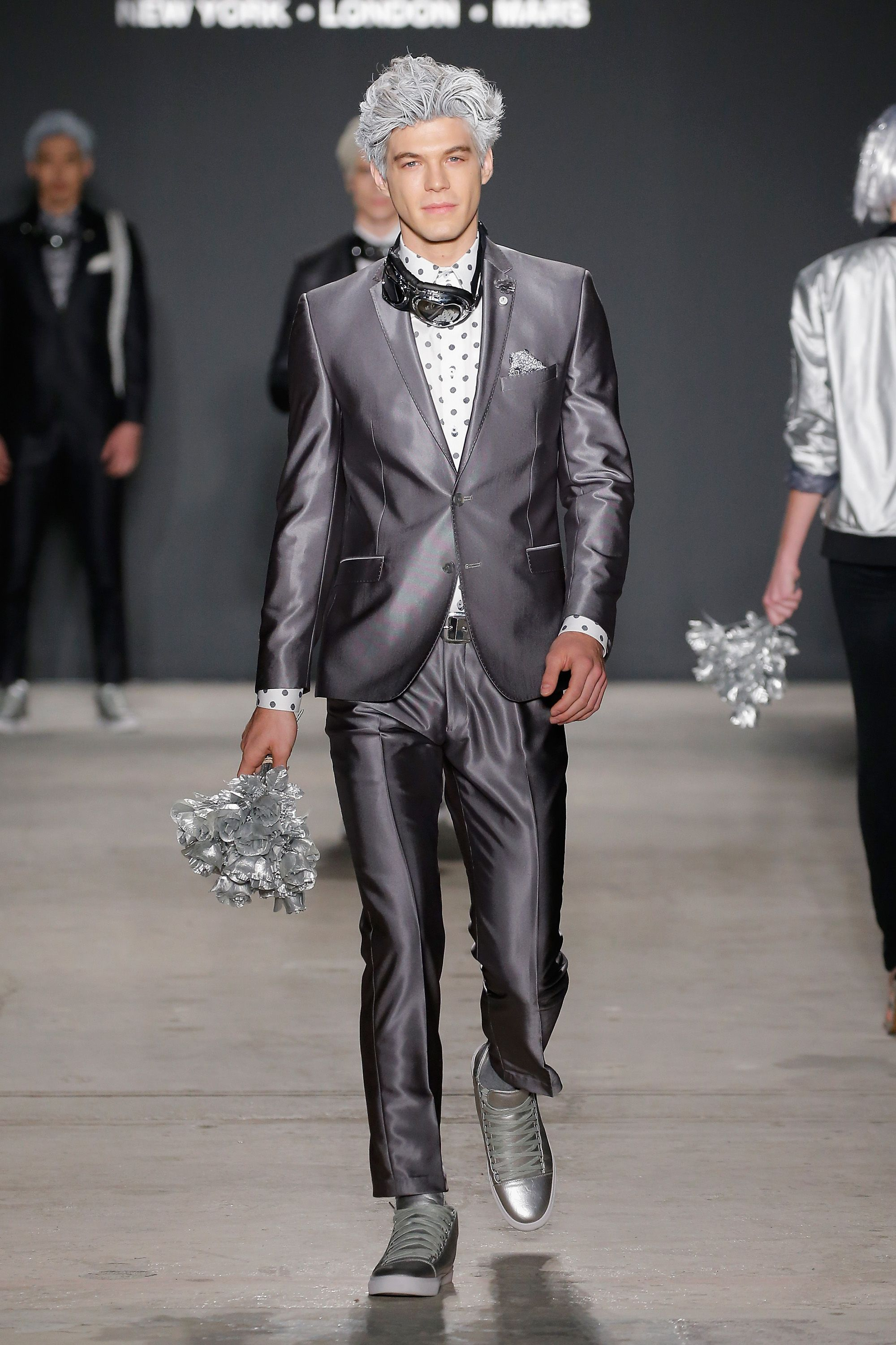 {NYFW Men's Fall17} Nick Graham teamed with Bill Nye and