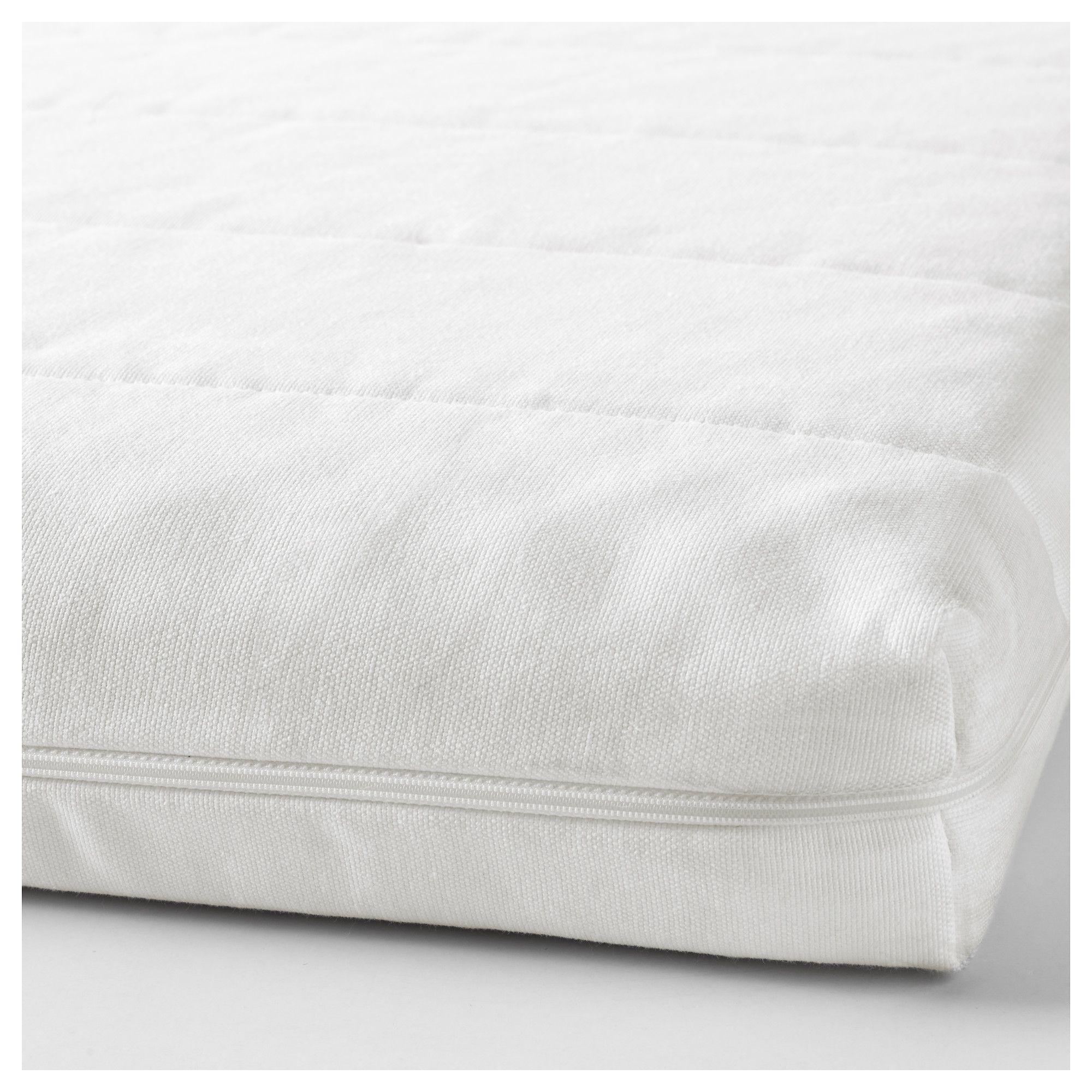 Flekke White Moshult Firm Day Bed W 2 Drawers 2 Mattresses 80x200 Cm Ikea Foam Mattress Ikea Mattress Firm Mattress