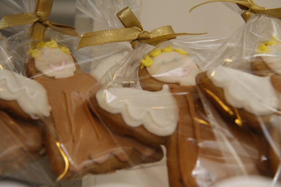 biscoito decorado anjinho