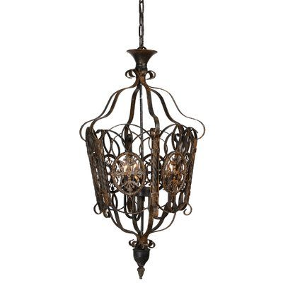 Forty West Kylie 3-Light Foyer Pendant