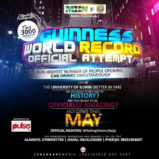 guinness world record making history naija in conjunction with the