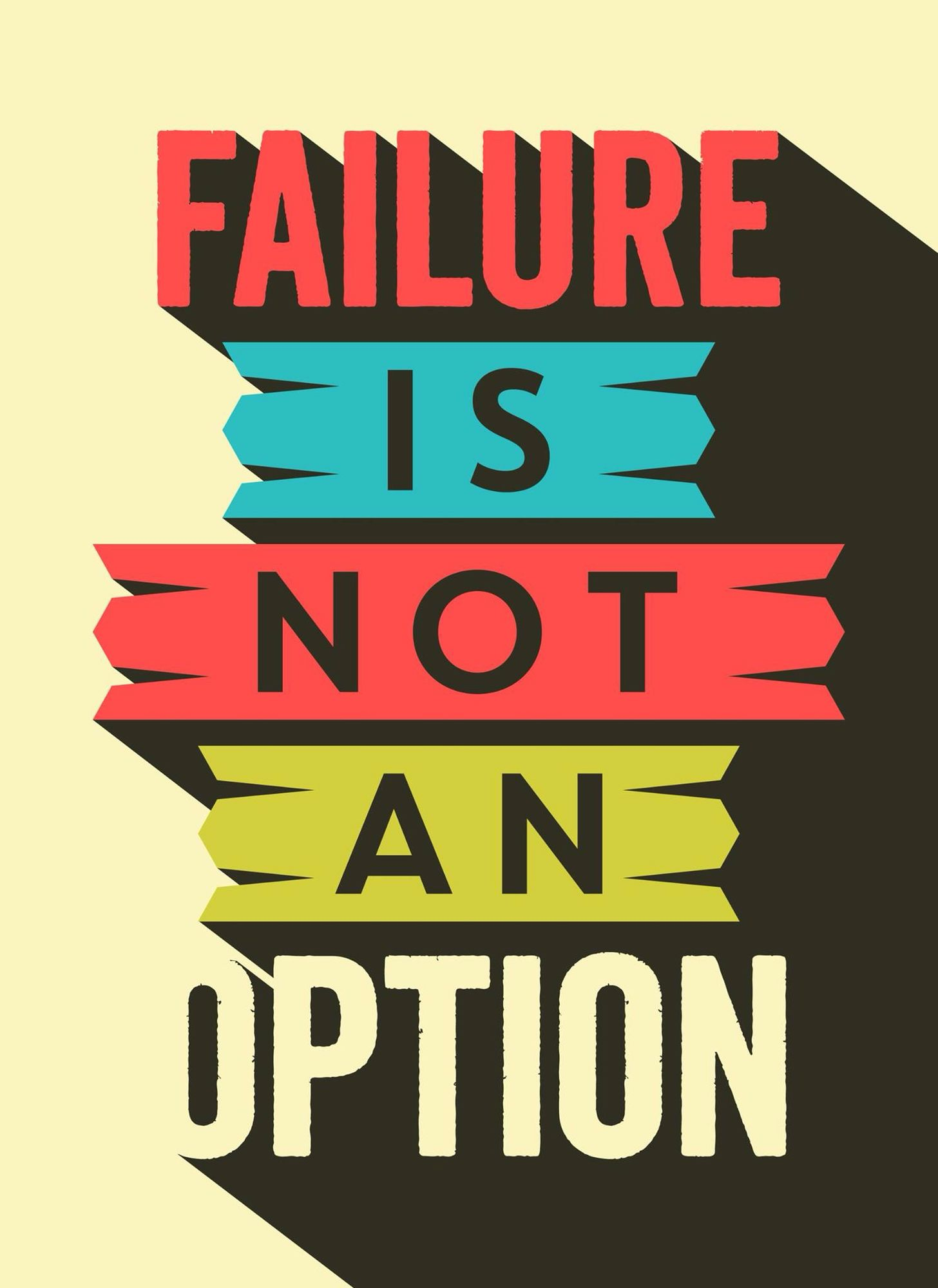 Quote Failure Is Not An Option Quote Quotes Quotes Option