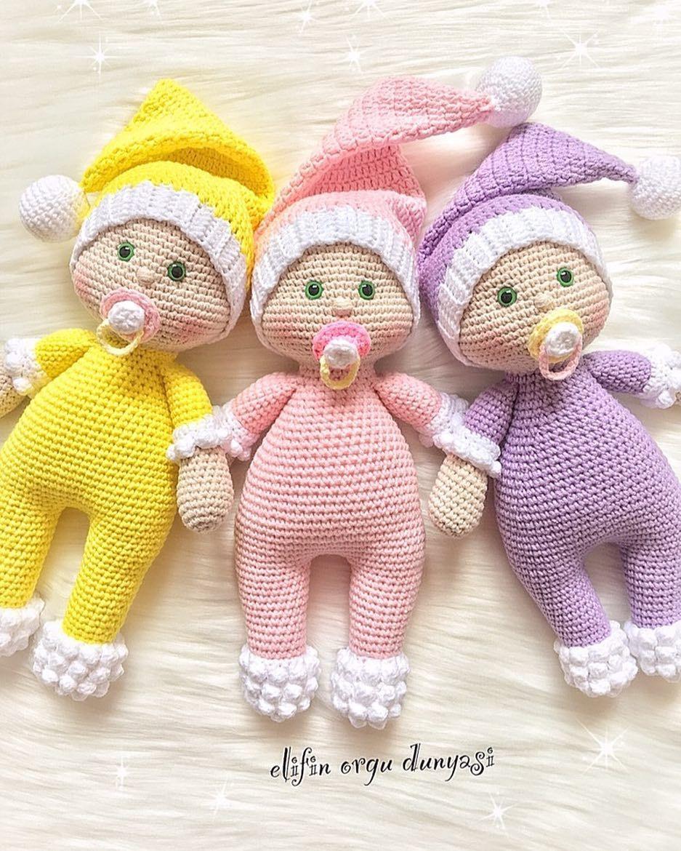 769 Begenme 40 Yorum Instagram Da Elif Elifin Orgu Dunyasi Gununuz Aydin Cumaniz Ve Bayraminiz Mubarek Olsun Diy Crochet Knitted Dolls Crochet Dolls