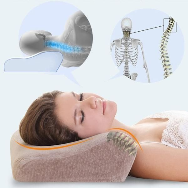 Orthopedic Neck Support Bed Pillow Save your Neck and Stop ...