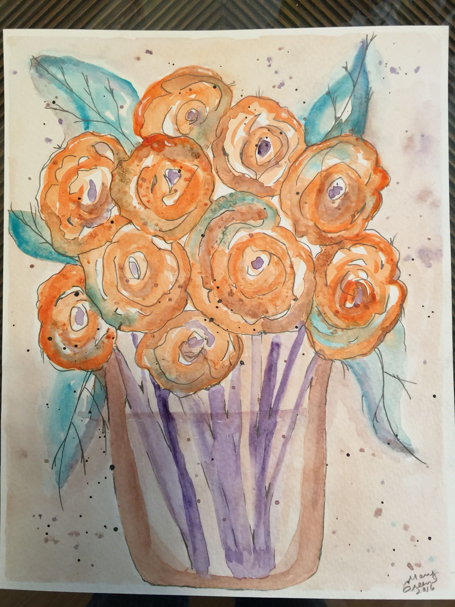 Flow A Peaceful And Fun Exploration In Watercolor Stacha Conboy
