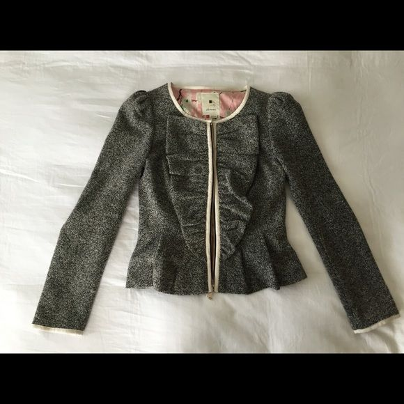 Anthropologie jacket Worn once. Excellent condition. Anthropologie Jackets & Coats