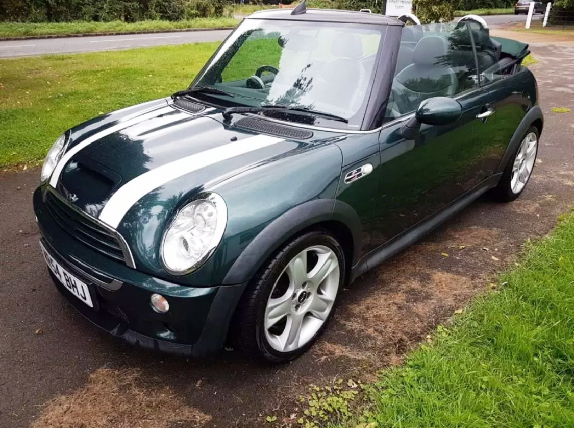 Mini Cooper S Cabriolet Convertible 170000 End Date Wednesday