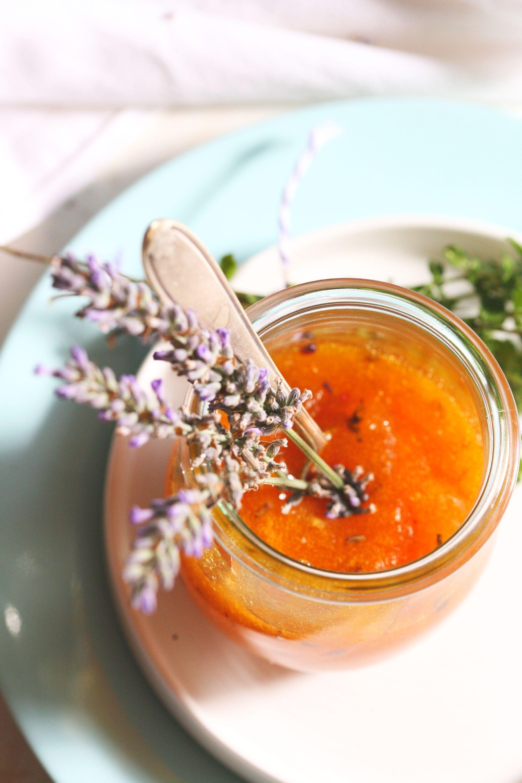aprikosen marmelade mit thymian und lavendel recipes aprikosen marmelade marmelade und. Black Bedroom Furniture Sets. Home Design Ideas