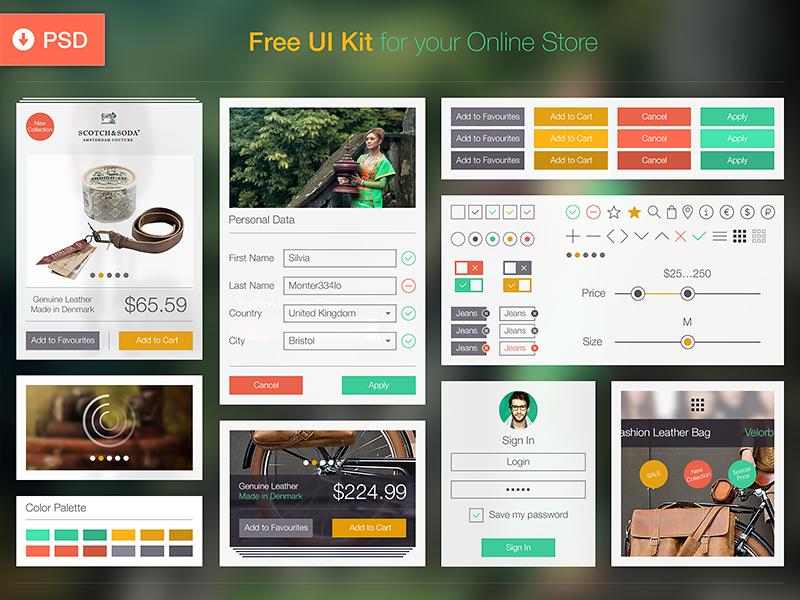 10 Archivos PSD de Elementos para diseño de interfaces | Pinterest ...