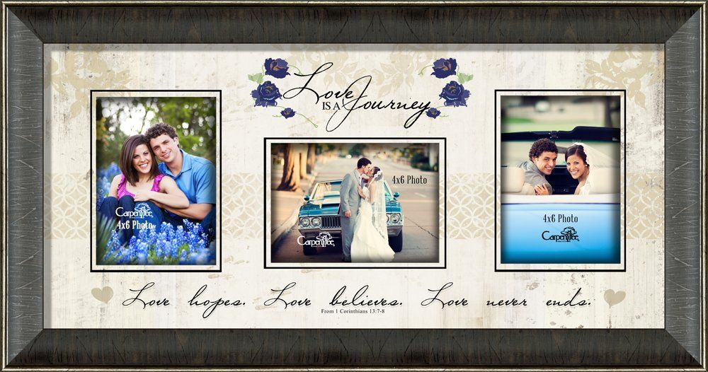 Love Is A Journey Photo Collage Picture Frame   Frame It   Pinterest ...