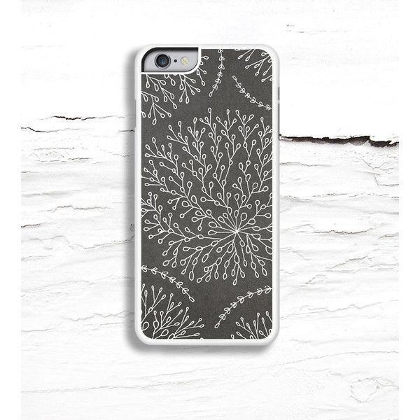 Hello Nutcase Grey Floral Print iPhone Case (€24) ❤ liked on Polyvore featuring accessories, tech accessories, floral iphone case, iphone case, iphone cover case, apple iphone cases and iphone sleeve case