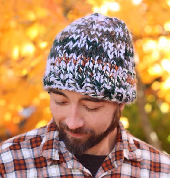 Men\'s Triple Knit Hat Pattern