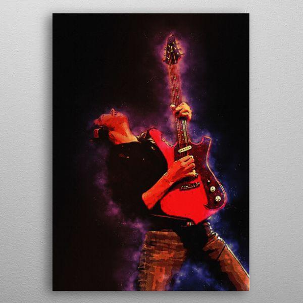 Spirit of Paul Gilbert Metal Poster Print The Poster