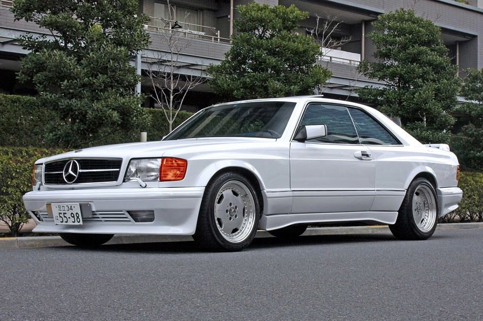 Mercedes Benz 560sec Amg W126 Blister Body Kit With Images