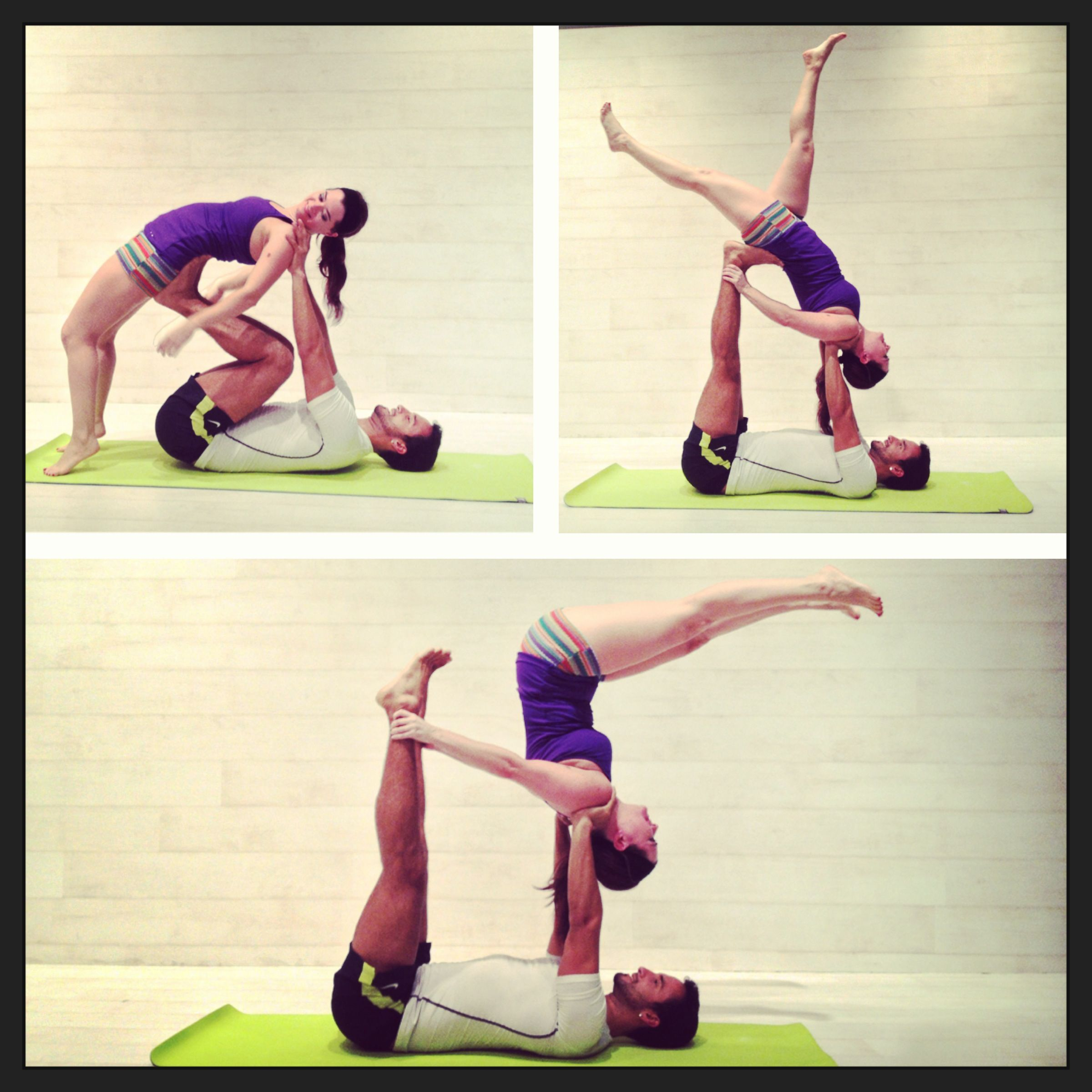 Acro Yoga How To Demonstration Pssstfollow Us Yogiapproved