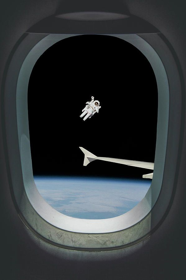 Thermosphere Airlines By Pelo Blanco Photo Art Images Floating