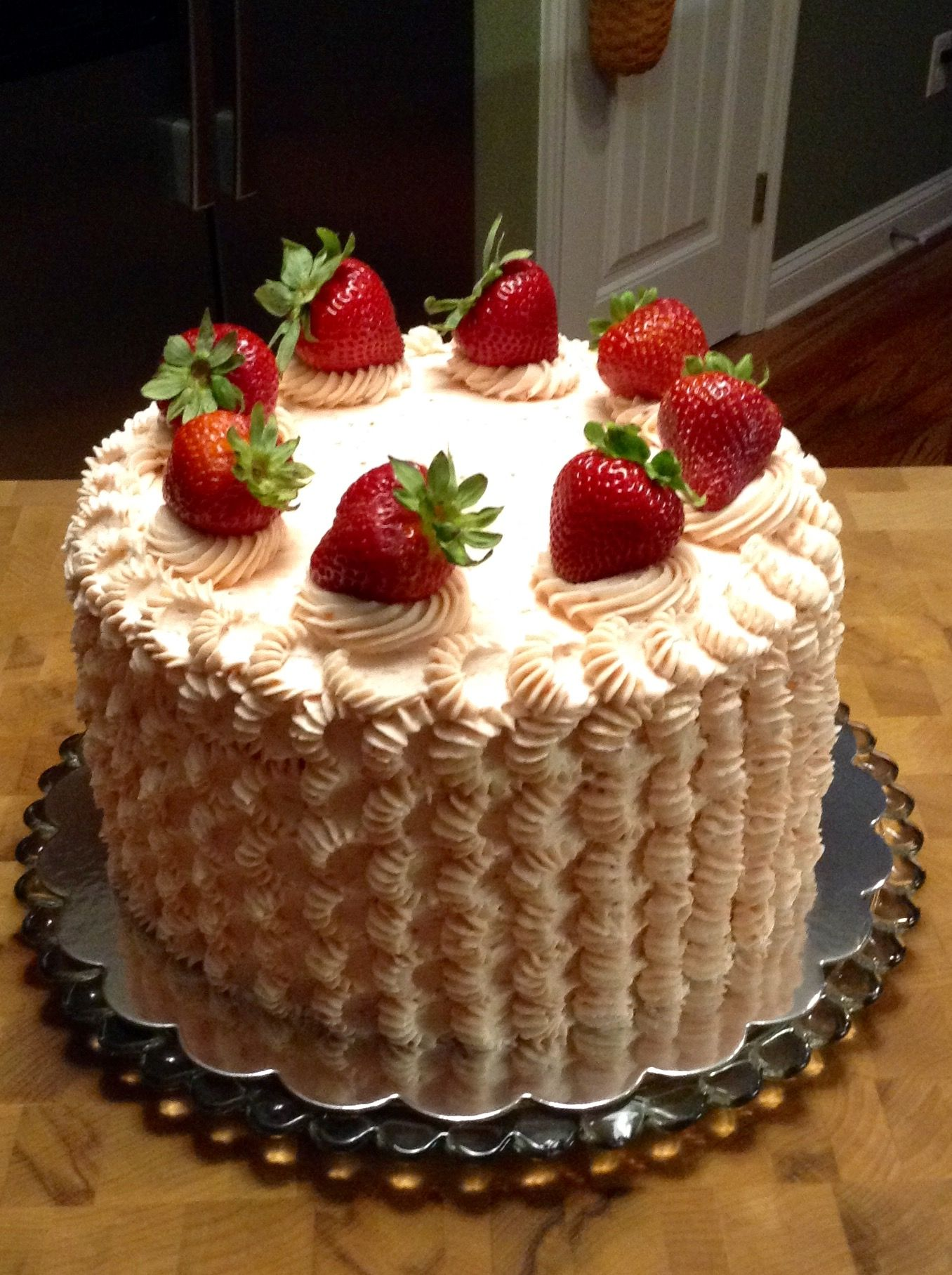 Fresh Strawberry Cake Strawberry Cake Easy Fresh Strawberry