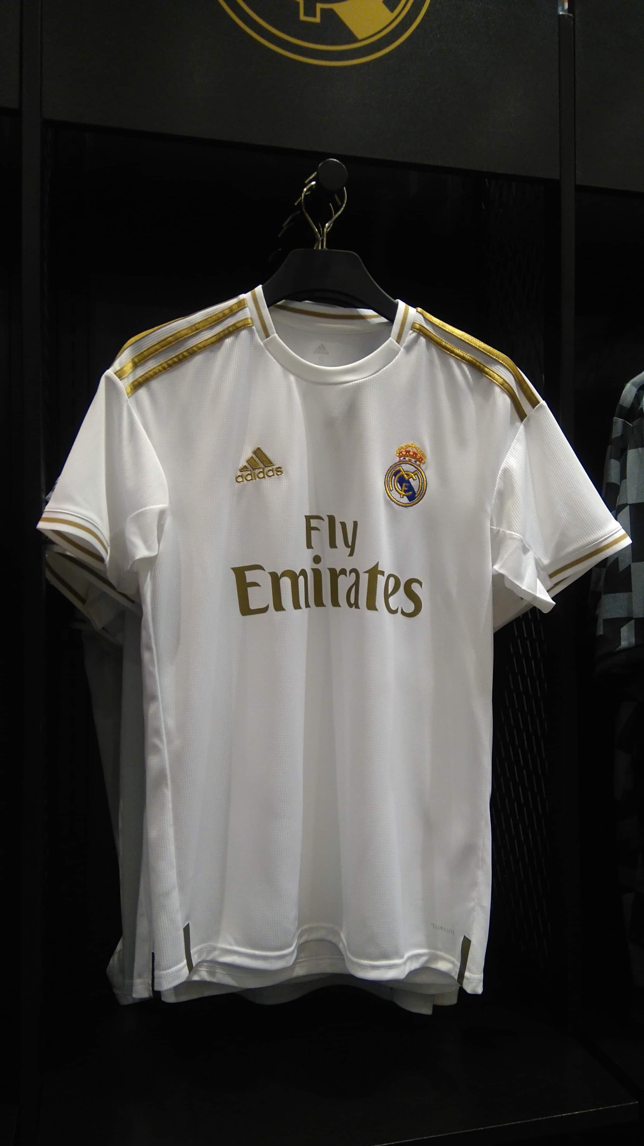 Official Real Madrid 19 20 Kit Real Madrid Madrid Football Shirts