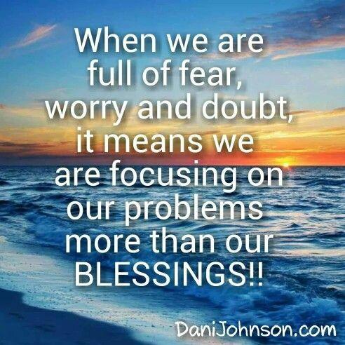 Focus on Jesus!
