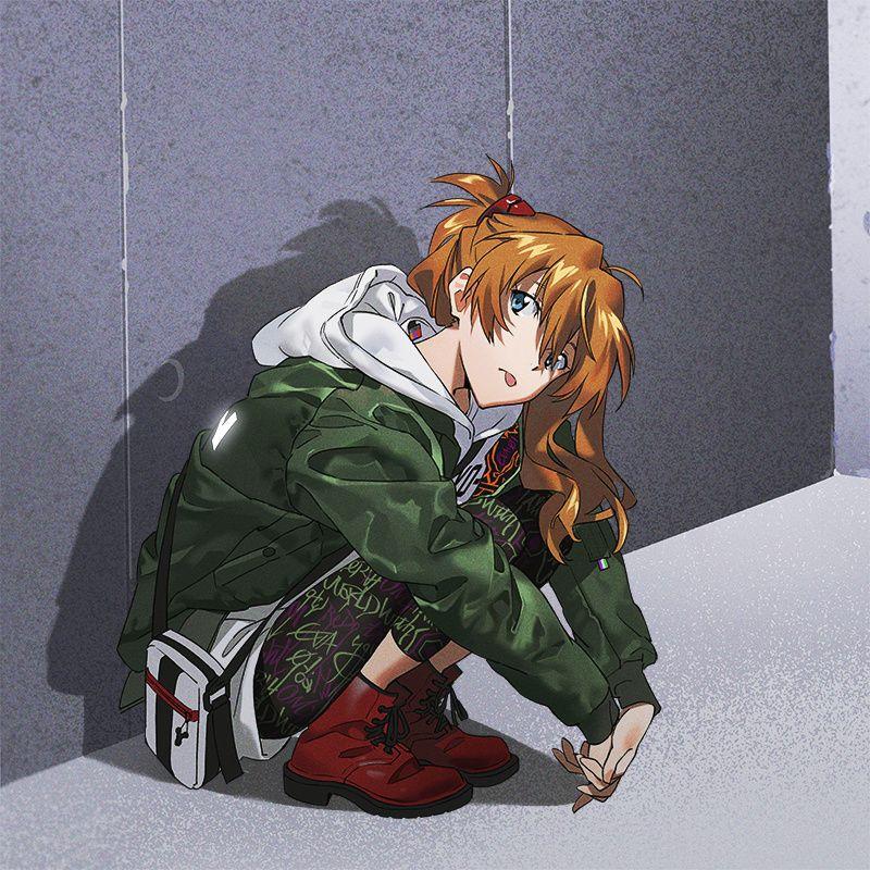 米山舞「RADIO EVA」10周年纪念插图 第2弹 Anime, Desenhos, Manga