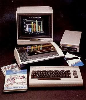 The Commodore 64 8-bit home computer is launched by ...