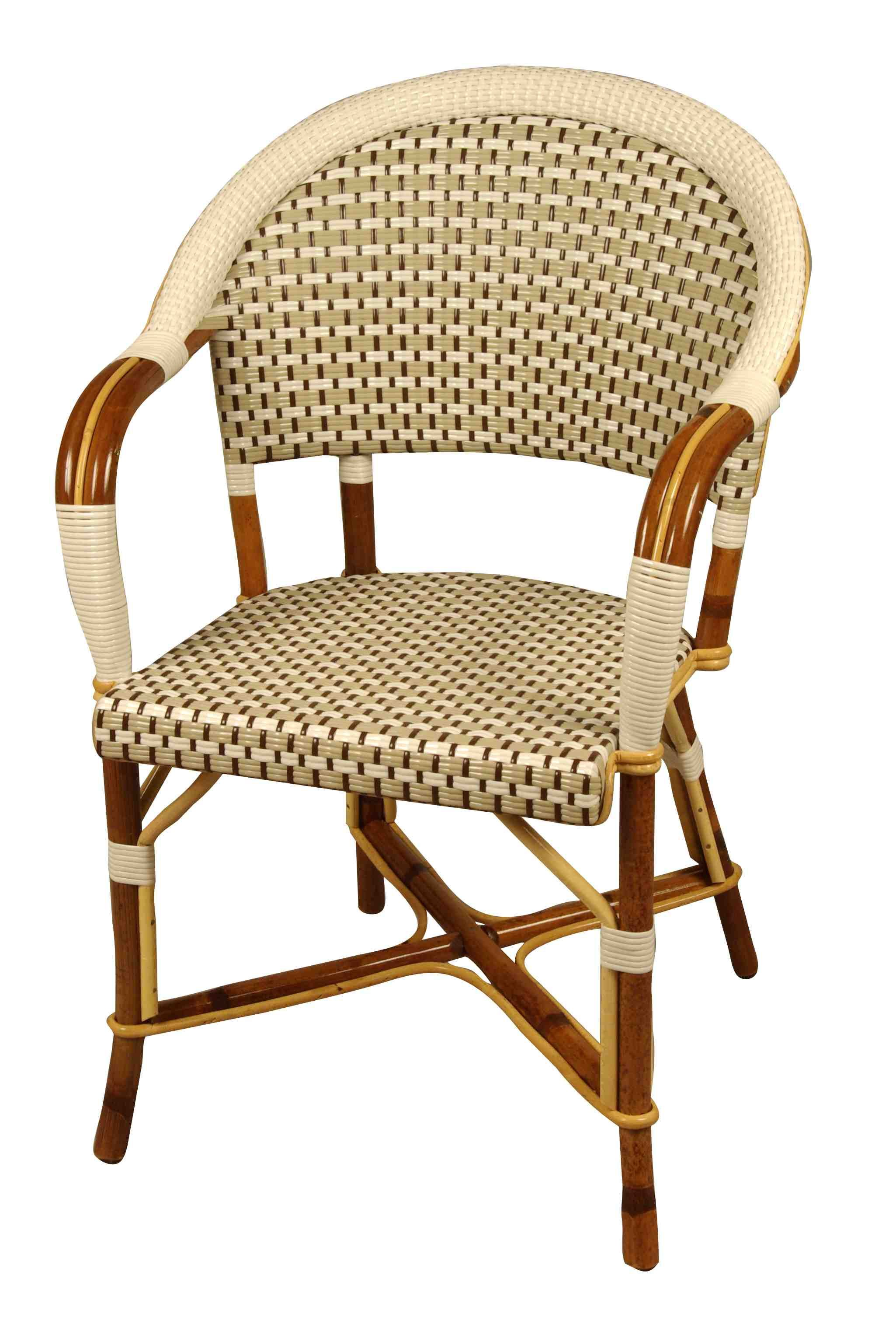 Drucker Fauteuil BASTILLE French Bistro Chair from