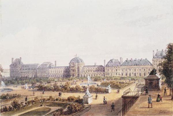 Palais Des Tuileries Xvie Xixe Siecle Photos Paris Photos Paris Old Paris