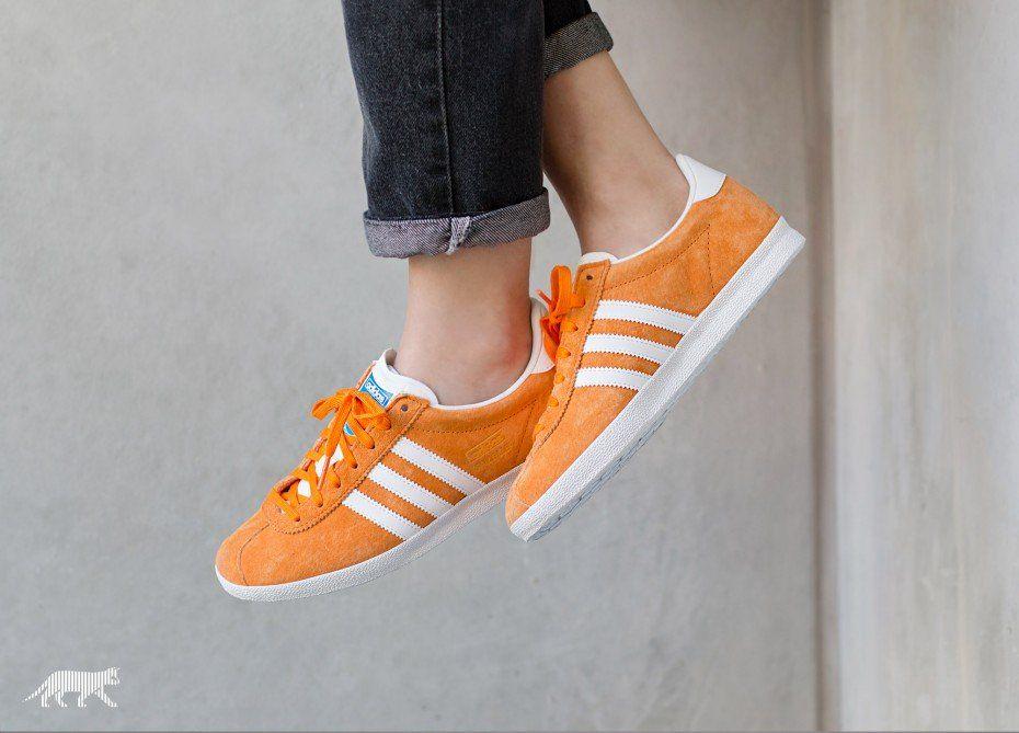 adidas Gazelle OG (Bright Orange/ Ftwr White / Bright Orange ...