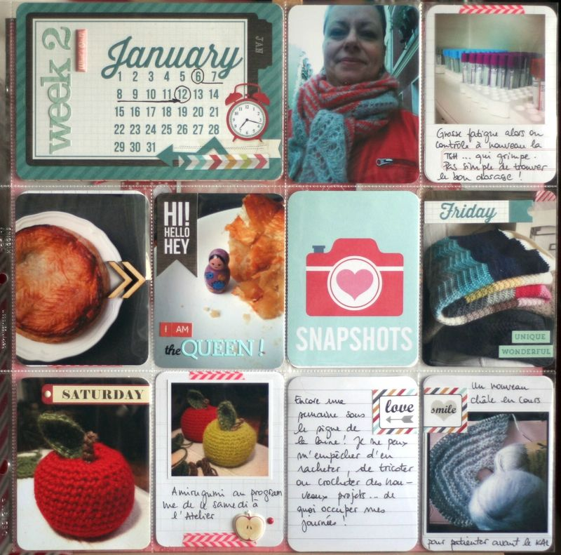 Project Life 2014 - Week #2