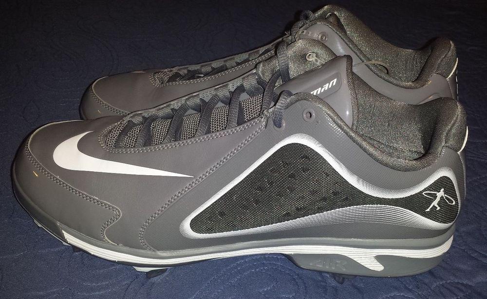 Gray Baseball & Softball Cleats for Men